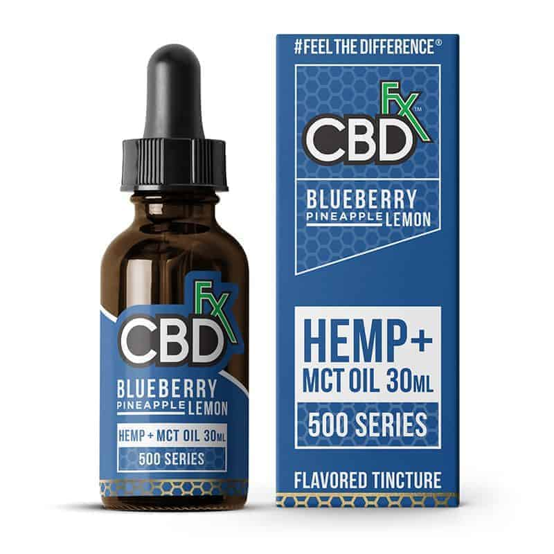 CBDfx Blueberry Pineapple Lemon CBD