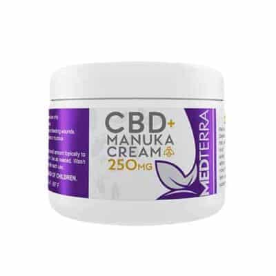 MedTerra Manuka Cream for Facial Cleansing 125mg | 250mg CBD