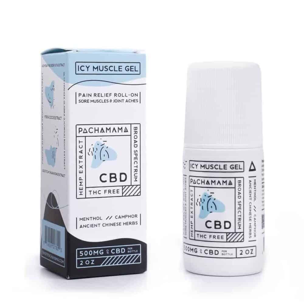 Pachamama CBD Icy Gel Rub Pain Cream 500mg