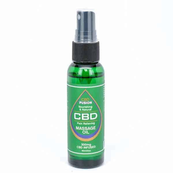 CBD Fusion Topical Massage Full Spectrum CBD Oil 2oz 300mg