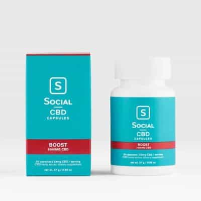 SocialCBD_Capsule_30CT_Boost 1000mg