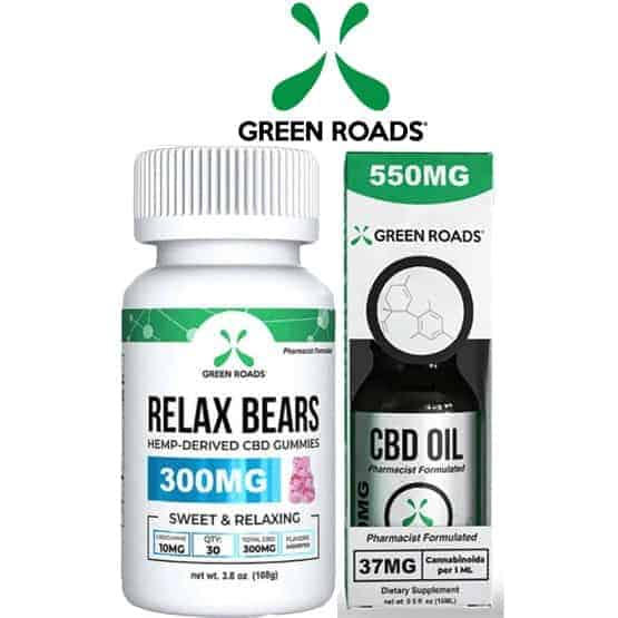 Green Roads CBD Bundle - Oil & Gummies No THC Broad Spectrum