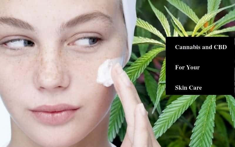 Cannabis and CBD for skin care - Element Earth CBD