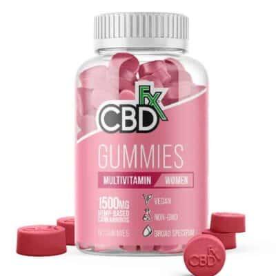 CBDfx CBD 1500mg Womens Vitamins Female