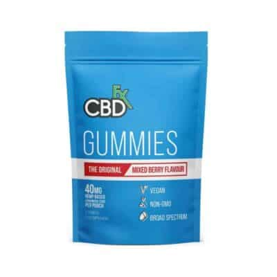 CBDfx CBD Gummies Bears | THC Free CBD Gummy Bears 40mg