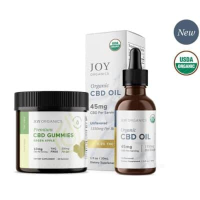 Joy Organics Combo CBD Oil Gummies Save Money