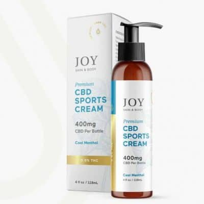 joy organics sport cream new