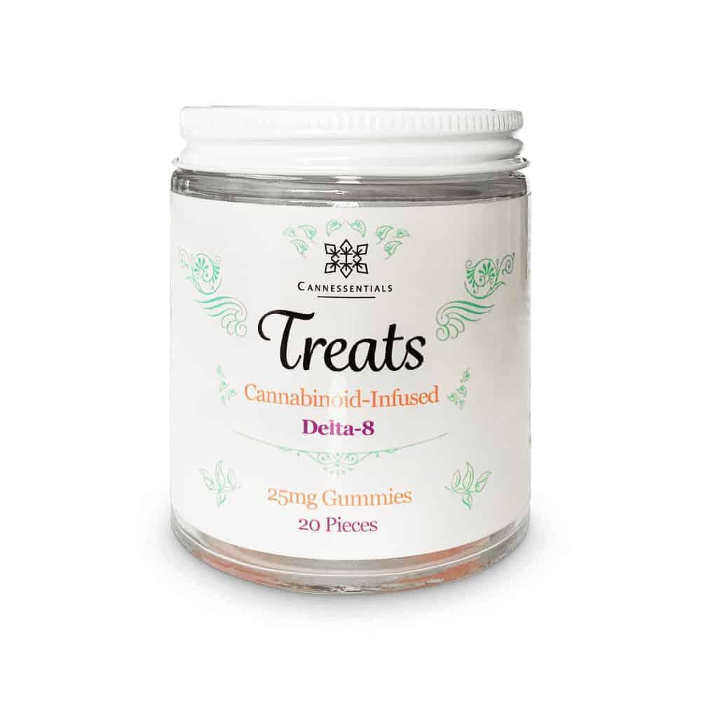 Delta 8 THC Gummies Jar