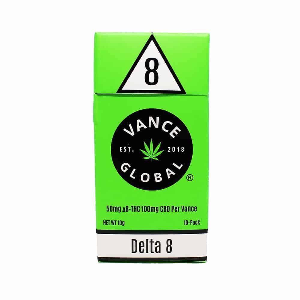 Vance Delta 8 Pack CBD Cigarettes