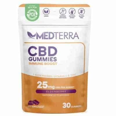 Medterra Immune Boost Gummies 750mg