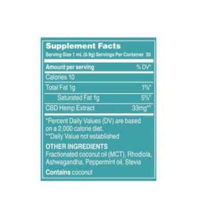 Social CBD Peppermint 2000mg label