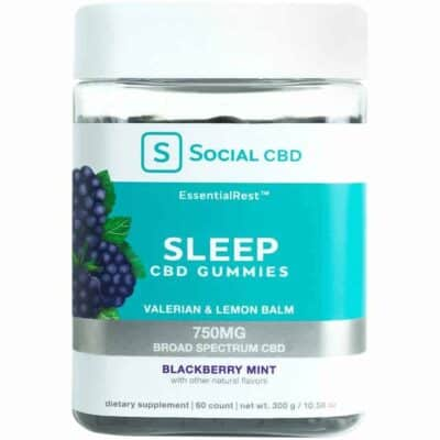 social cbd sleep gummies