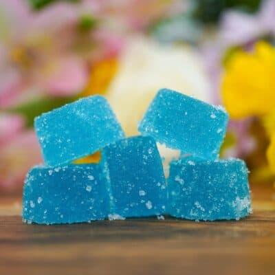Blueberry Delta 8 THC Gummies