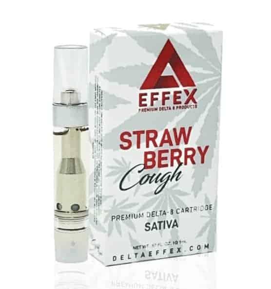 Delta Effex Strawberry Cough Delta 8 THC Cartridge