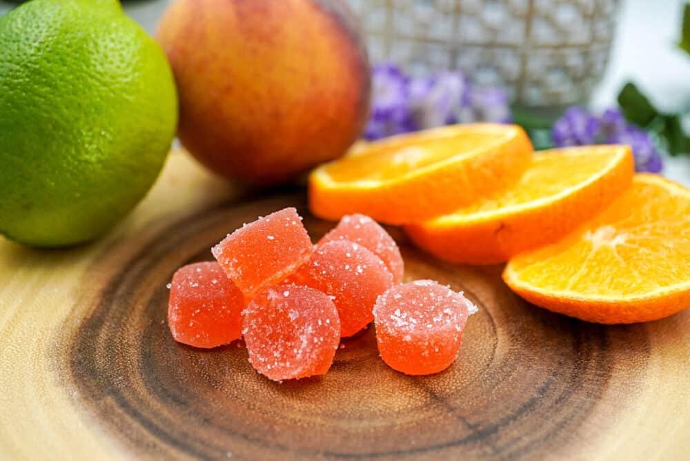 strawberry Delta 8 THC Gummies