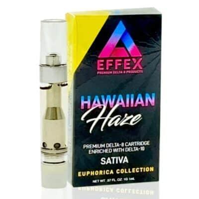 Delta Effex Hawaiian Haze Delta 10 vape cart
