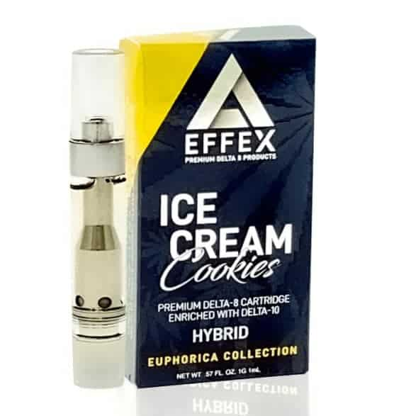 Delta Effex Ice Cream Cookies Delta 10 THC