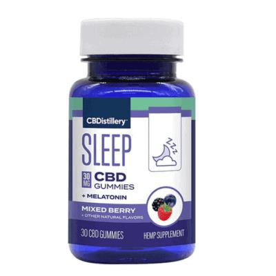 cbdistillery night time gummies melatonin