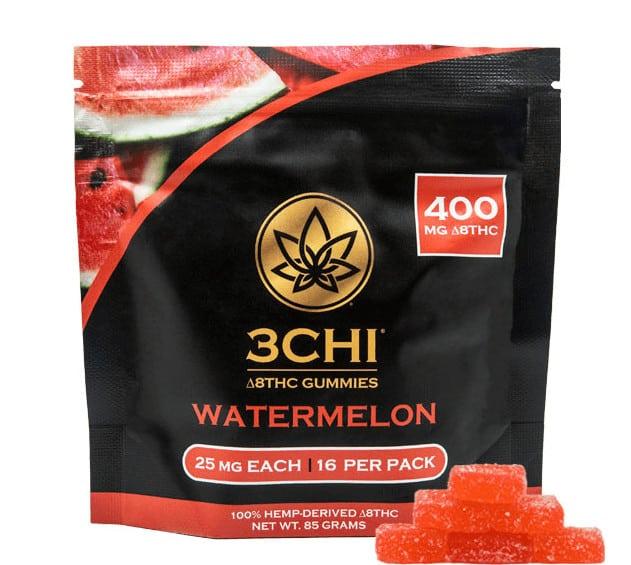 3Chi Gummies Watermelon Delta 8 THC 400mg
