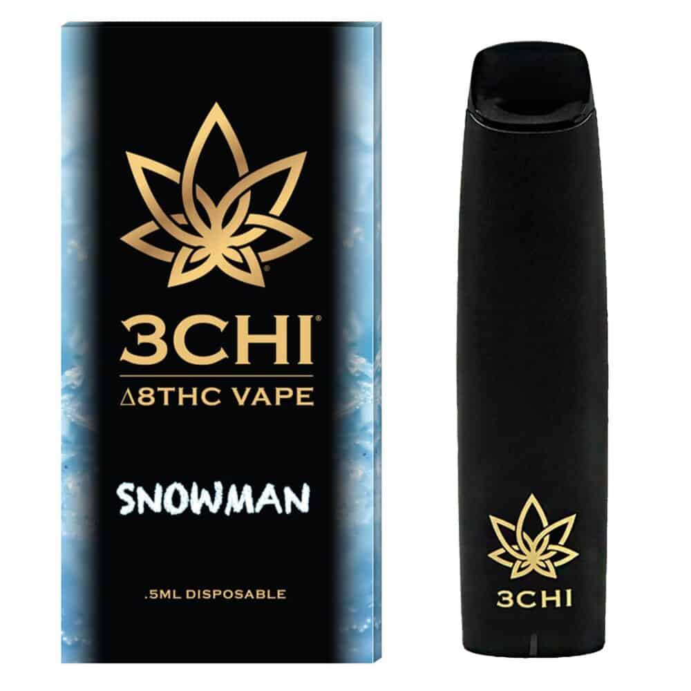 3Chi Snowman Disposable Delta 8 THC