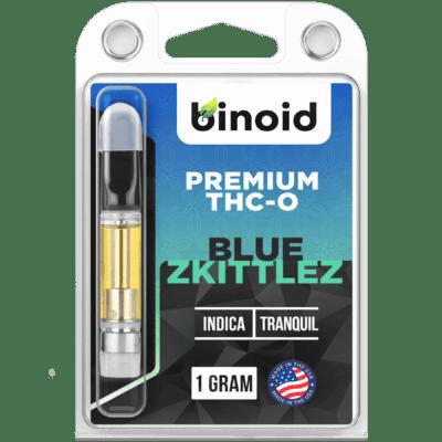 Binoid Blue Skittles THC-O Vape Cart 1 gram
