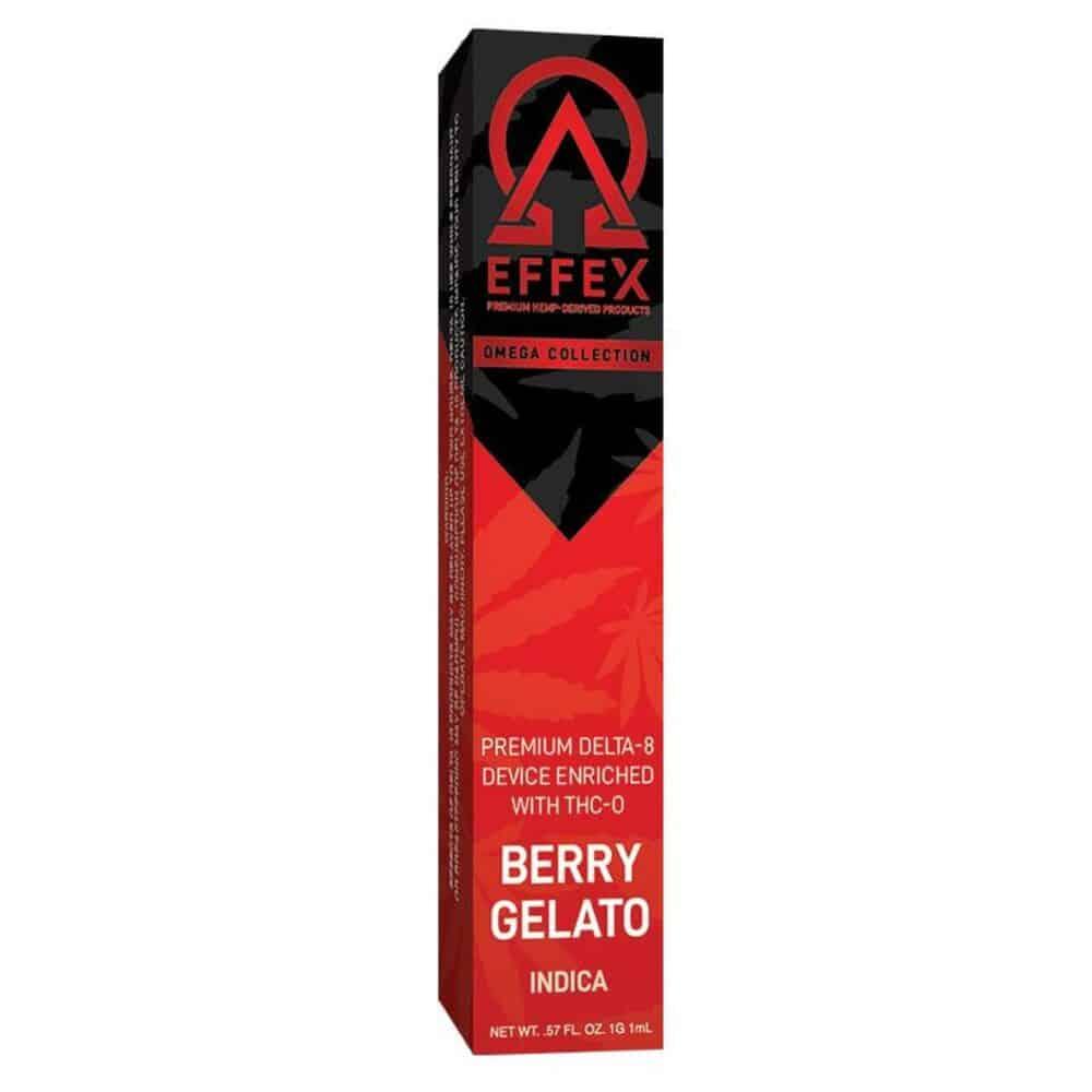 Delta Effex Berry Gelato THC-O Disposable