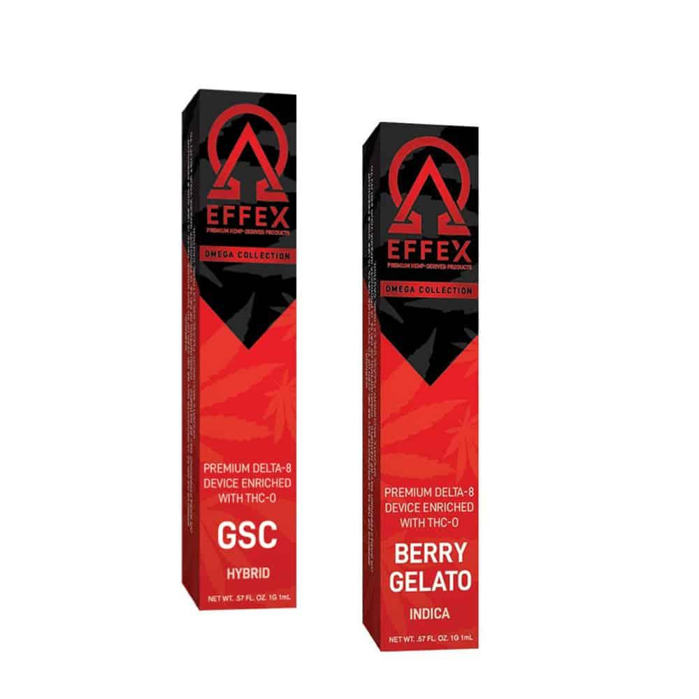 Buy THC-O rechargeable vape Delta Effex