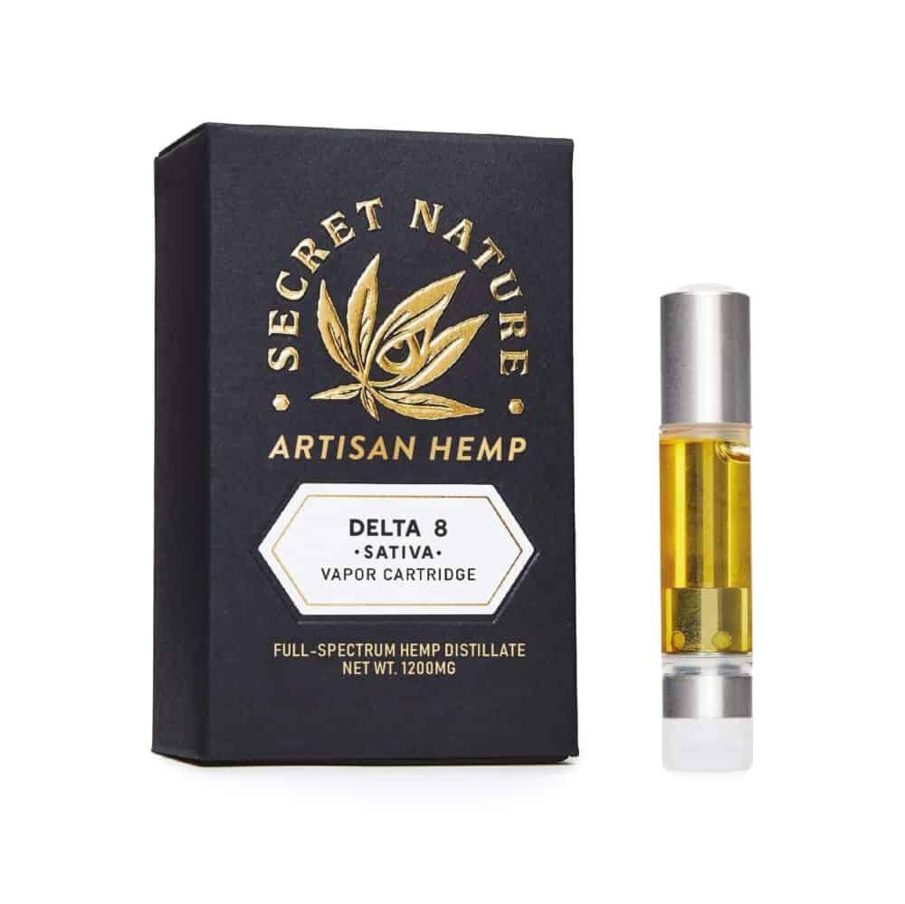Secret Nature Delta 8 THC Vape Sativa