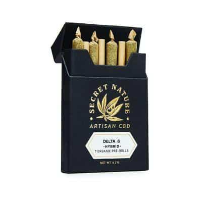 Secret Nature delta-8-pre-rolls 7 pack