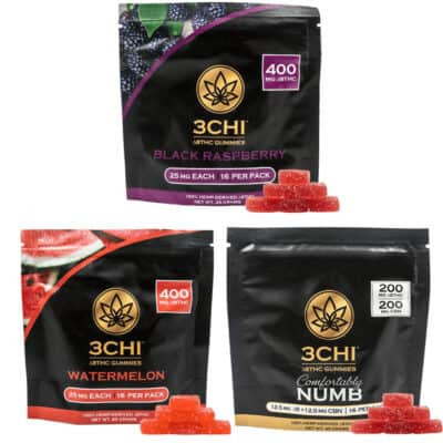 3Chi Gummies Delta 8 THC 400mg Variety Pack
