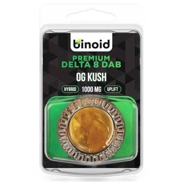 Binoid Wax Dabs - OG KUSH 1 GRAM