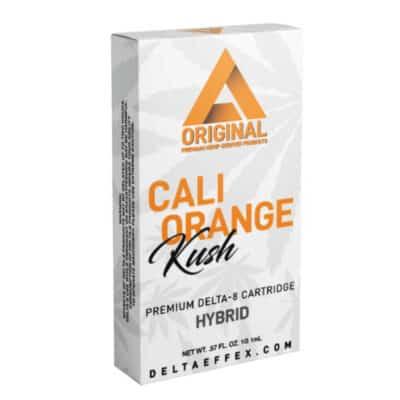Delta Extrax Orange Cali Kush Vape Cart 1 Gram Delta 8 THC Vape